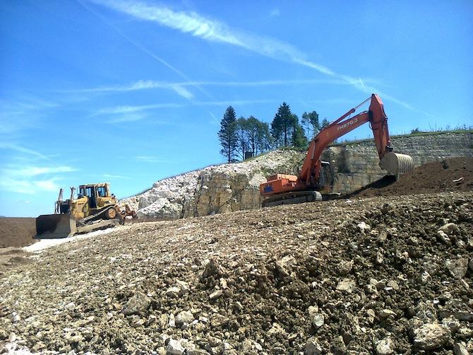 escavazioni conco