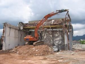 demolizione schio