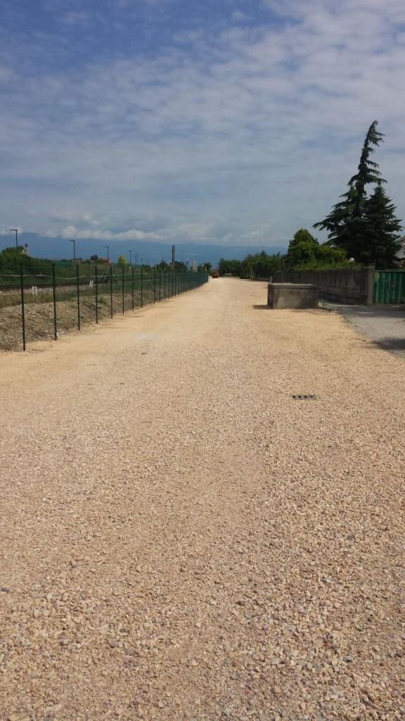 Sistemazione stradale, Vicenza