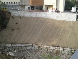 Opera strutturale - Spritz beton (dopo) Valli del Pasubio