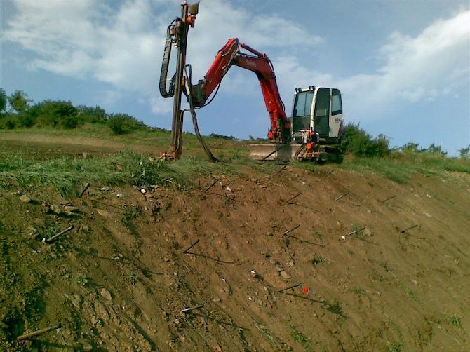 soil nailing breganze