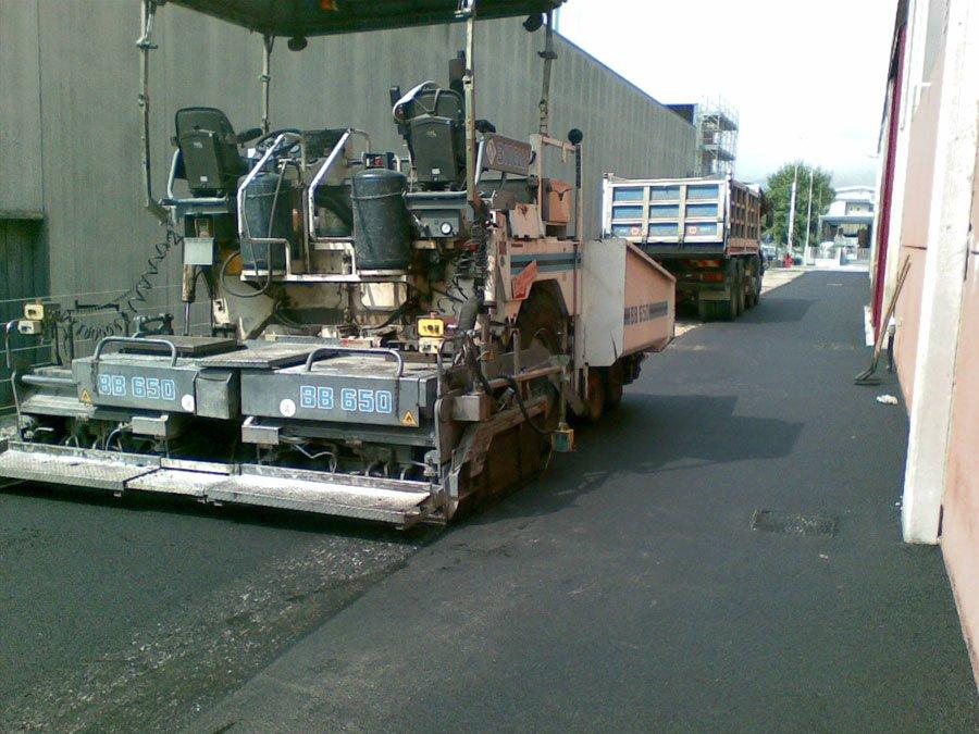 asfaltatura santorso