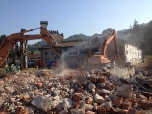 Demolizione Villa Clementi - Malo