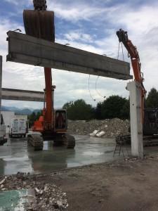 Demolizione capannone Industriale - Schio 2