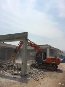 Demolizione capannone industriale - Schio